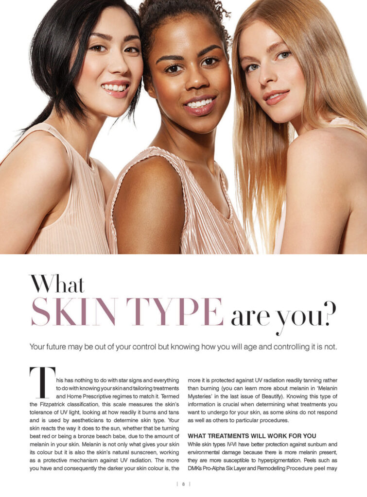 what skin type are you article